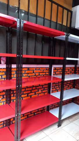 ready rak besi warna merah