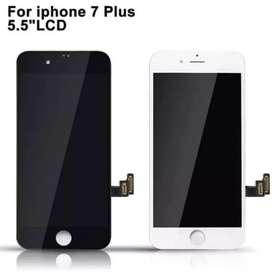 Lcd iphone 7plus free antigores