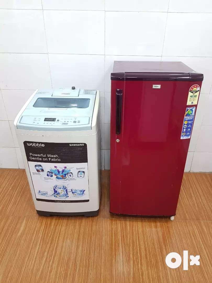 washing machine and refrigerator combo at just 13500 0