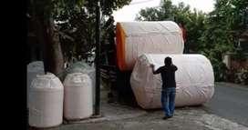 Magelang gudang Tandon air 5000 liter tebal bahan plastik pvc