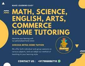 Home Tutor (teacher) required