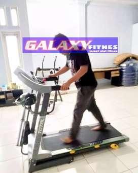 GUDANG ALAT FITNES' _TERBESAR  READY* black sport treadmil 288