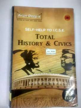 ICSE class 10 history and civics arun deep publication guide