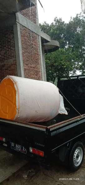 Tandon air 2000 liter merk new88 bahan plastik gratis antar