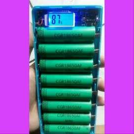 Casing Sbg PowerBank == Rakit-Pasang Baterai = Capacity AWET + REAL