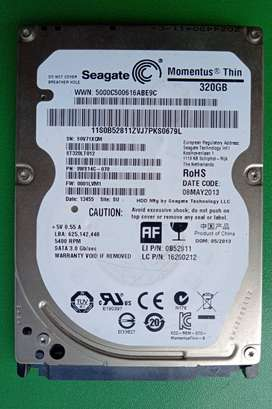 Harddisk Laptop Seagate Slim Thin 320gb (Pabelan)