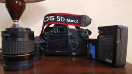 Canon EOS 5D MARK II DSLR Camera with 28-80mm & 50mm Lens | FULL BAG