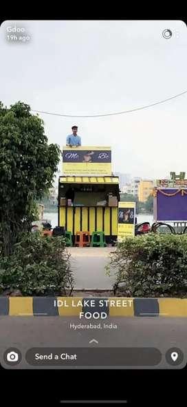 Shop Container with Tandoori and Irani Chai Equipments