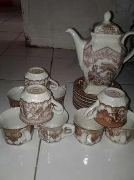 teko gelas antik
