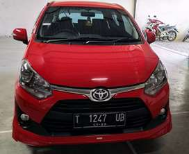 Toyota agya 1.2 TRD S 2018 terima DR