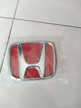 Emblem H depan Jazz / Brio lama