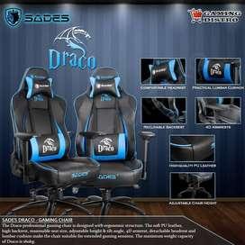 Kursi Gaming Sades Draco - Blue