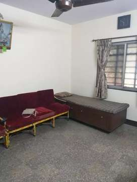 2 bhk furnished AC flat for rent Nr. Tembhi Naka (bachelors allowed)