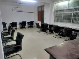 furnished office for rent at shipra path mansarovar