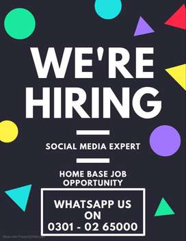 We  are hiring marketing specialist for Digital Marketing Job Home