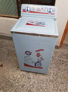 Steel washing machine for sale only 2 time use