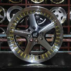 Velg 16 WORK EQUIP 4Hole Jazz Brio Avanza agya march mazda yaris city