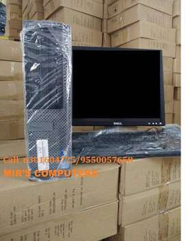 DELL/HP/ACER CORE 2 DUO 2GB RAM 160GB HDD 17INC LCD FULL SET
