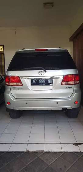 fortuner AT ready for use plat no cantik