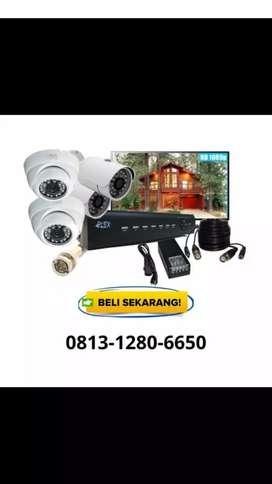 Camera cctv full set gratis pasang
