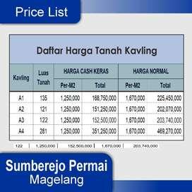 Tanah Kavling Murah, Diskon 30%: Di Kota Yogyakarta