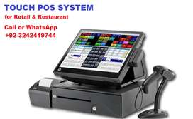 Touch POS System  available for all Business Fast food,ePOS