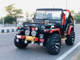 Modified open jeeps in new looks