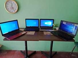 Laptop 2 jutaan ready 4unit harga mulai 2.1 sampai 2.7 garansi 1bulan