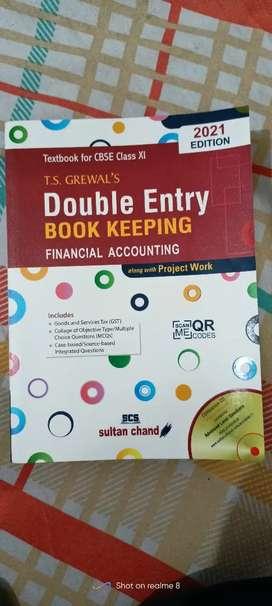 T.S Grewal's Financial Accounting (Accountancy)