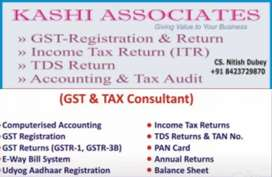 Accounting gst work tally,word pad, Excel