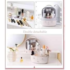 Rak Kosmetik Kotak Makeup Serbaguna Storage Box Organizer