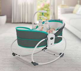 5 in 1 baby cot bed rocking chair rocker bassinet