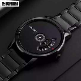 Jam Tangan SKMEI Unique Black WR 3 Atm