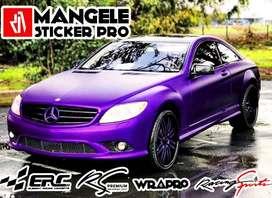 Tampil Exclusive Dengan Sticker Mobil Premium Mangele