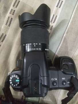 Sony Alpha 200 with sony 18-70 lens