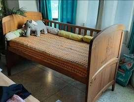 Baby Crib - Rs.8000 - Mothercare Wooden Darlington Crib - 2 years old