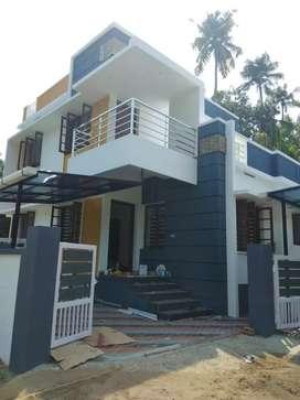 3 bhk 1200 sqft 3.25 cent new build house at paravur near kottuvally