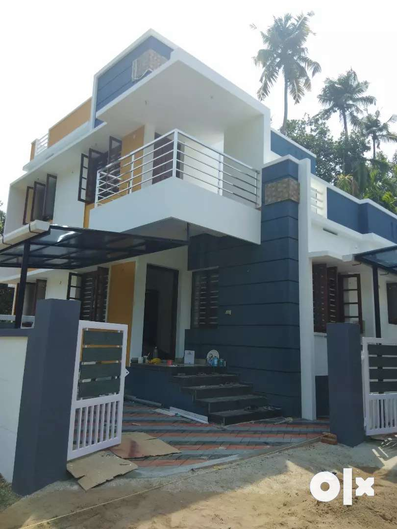 3 bhk 1200 sqft 3.25 cent new build house at paravur near kottuvally 0