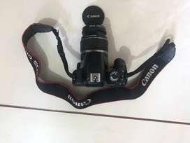 Canon DSLR camera 450D with 18-55 lense with all seller accessories