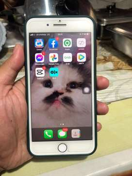 Iphone 7+ Silver 128Gb ex resmi ibox