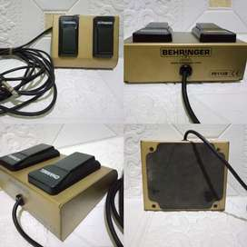 Behringer footswitch bass fs