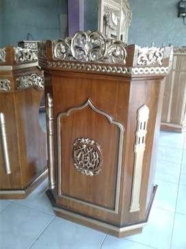 mimbar podium masjid cantik 588