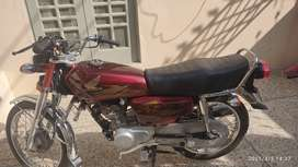 New Honda 125 use 1500 km double set cover tankie tapy cover bay sheet