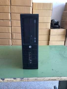 Hp 8200 Core I3 2nd Gen Mini Cpu 4gb 320gb dvd 3.0ghz Under Warrenty