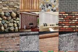 Kualitas baik harga terjangkau wallpaper dinding q1m5m