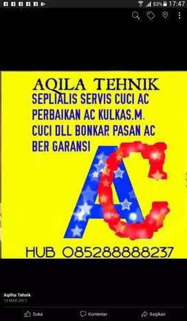 AQILA SERVICE PANGGIL CUCI AC KULKAS M,CUCI