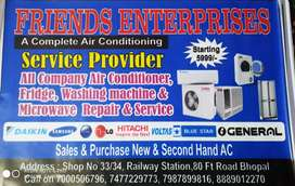 SERVICE PROVIDE-AC, FRIDGE, WASHINGMASHIAN , MICROWAV ETC.