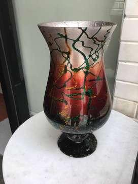 Dijual Best Home Vas Pajangan Kaca Merah