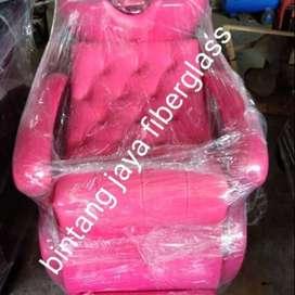 kursi keramas salon jok full pink neon