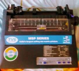 New Tvs electronics dot matrix printer